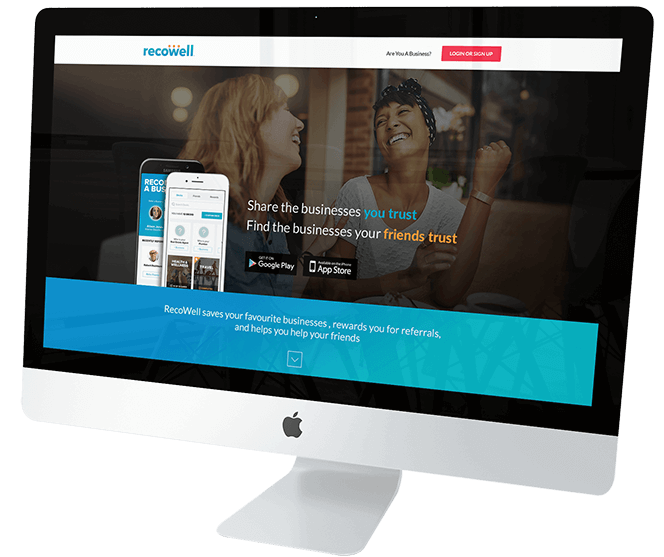 RecoWell Screen